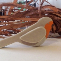 Uccellini di legno