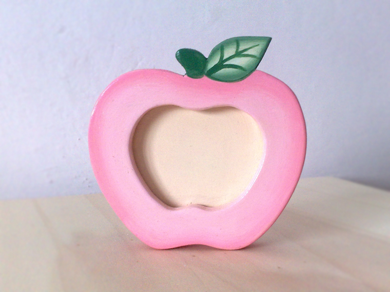 Meletta portafoto - Apple shaped photo frame