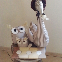 Fabric Goose Doorstop